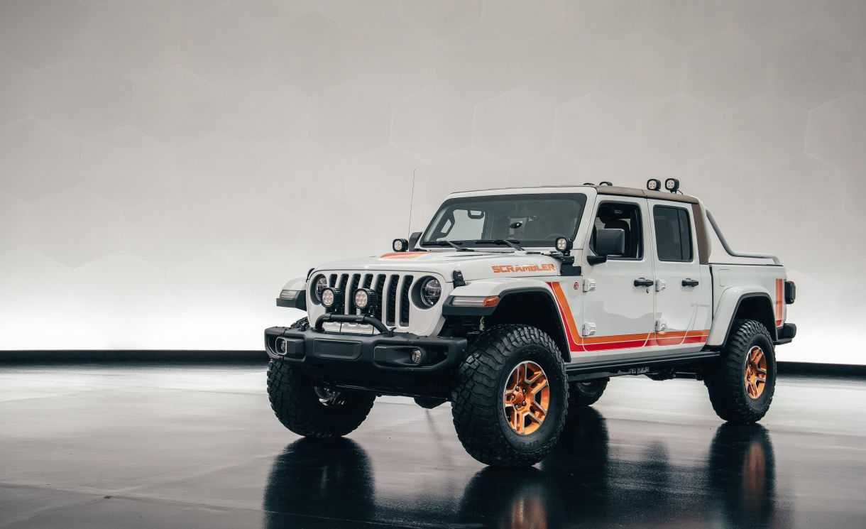 Jeep Celebrates All Things Gladiator And Pickup With Its 2019 Easter Jeep Safari Concepts State Of Press