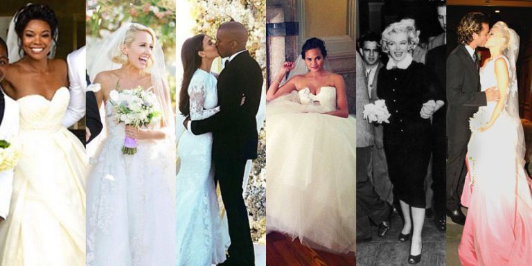 The 47 Best Celebrity Wedding Dresses