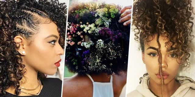 9 best natural hairstyles of 2017 - how to style natural