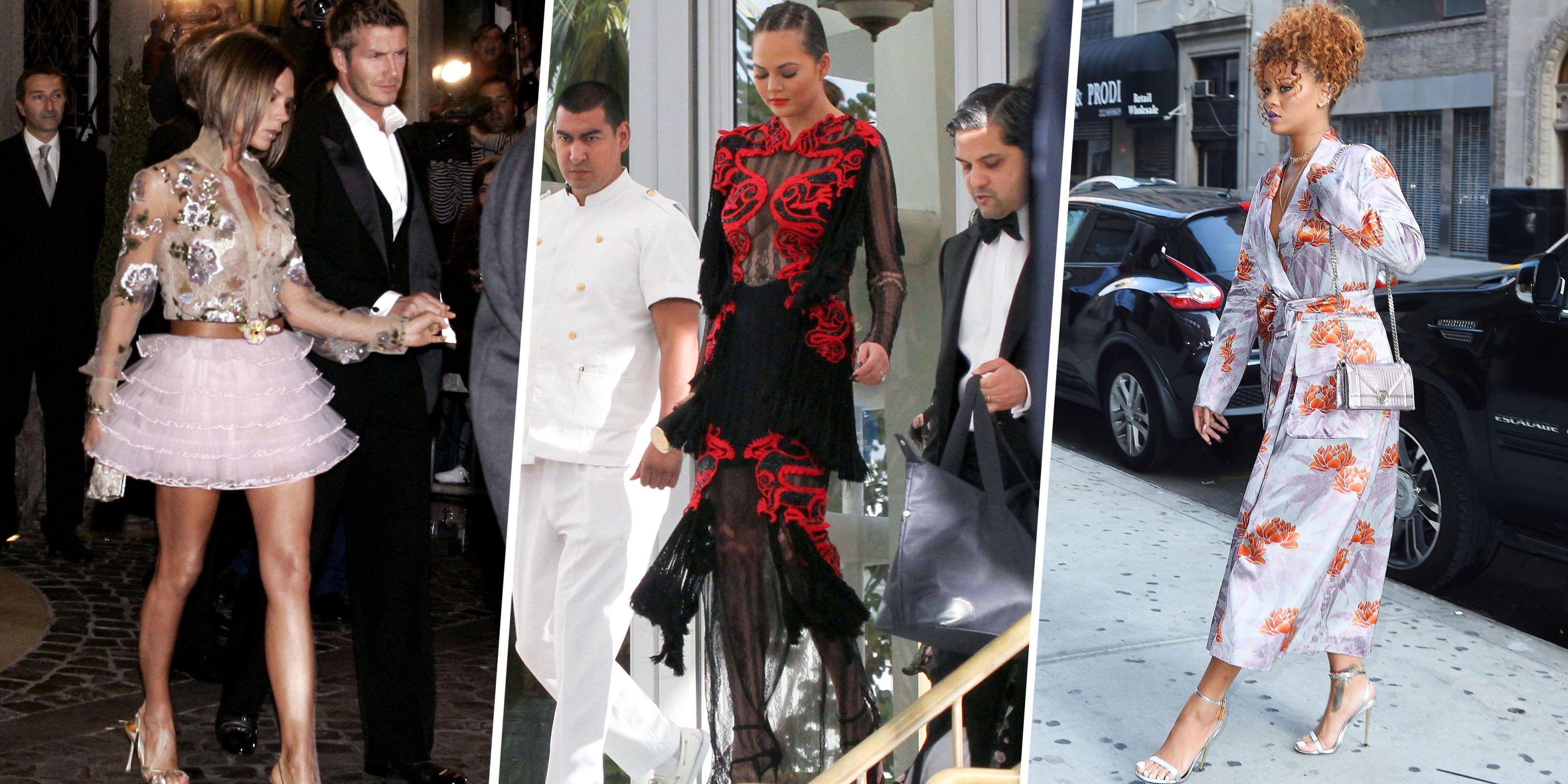 Celebrities Attending Weddings - What Celebrities Wear to ...