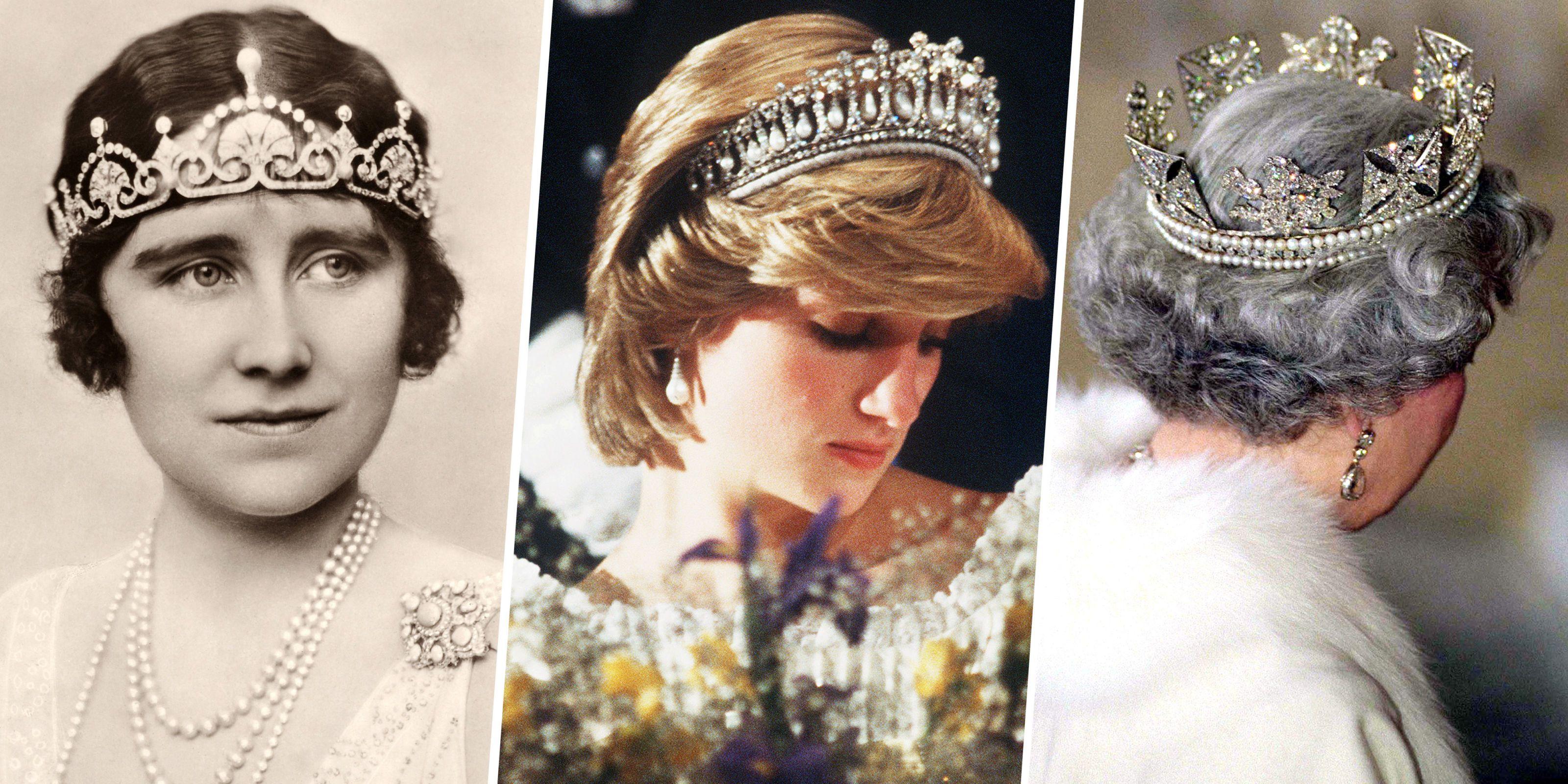 The Royal Familys Tiaras The Royal Familys Jewels
