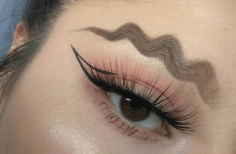 Wavy Eyebrows - Beauty Trends 2018