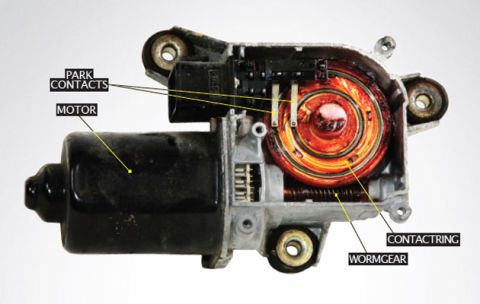 How Does A Wiper Motor Work | Wiring Diagram