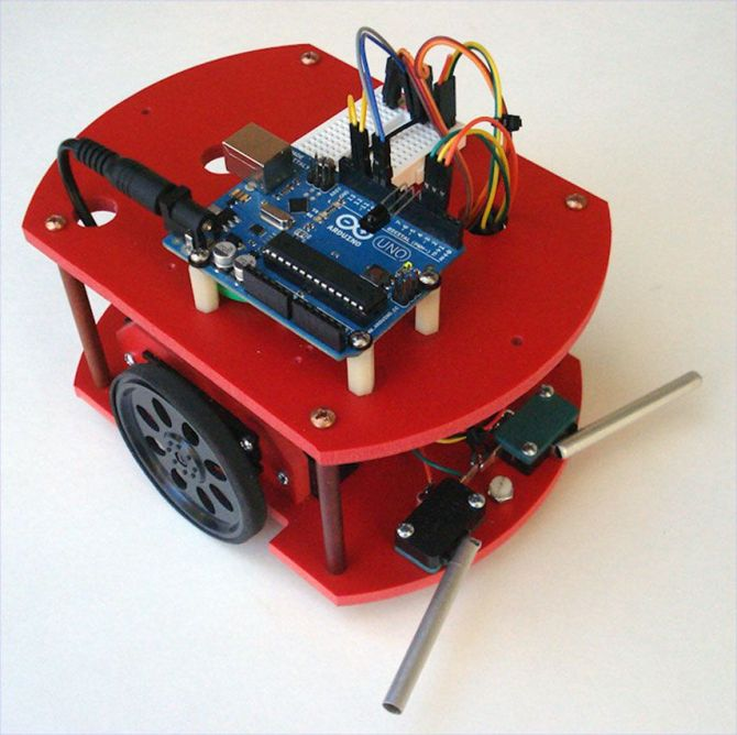 build your first robot  with plans and stepbystep