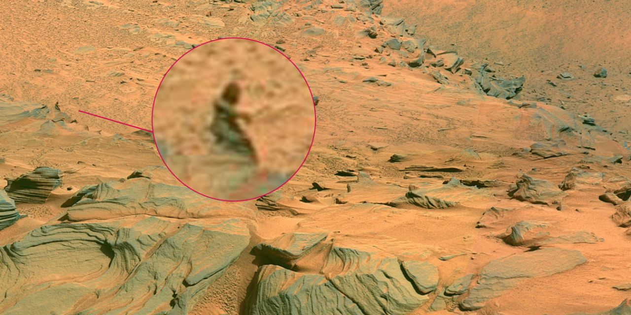 A Mermaid Has Been Spotted on Mars