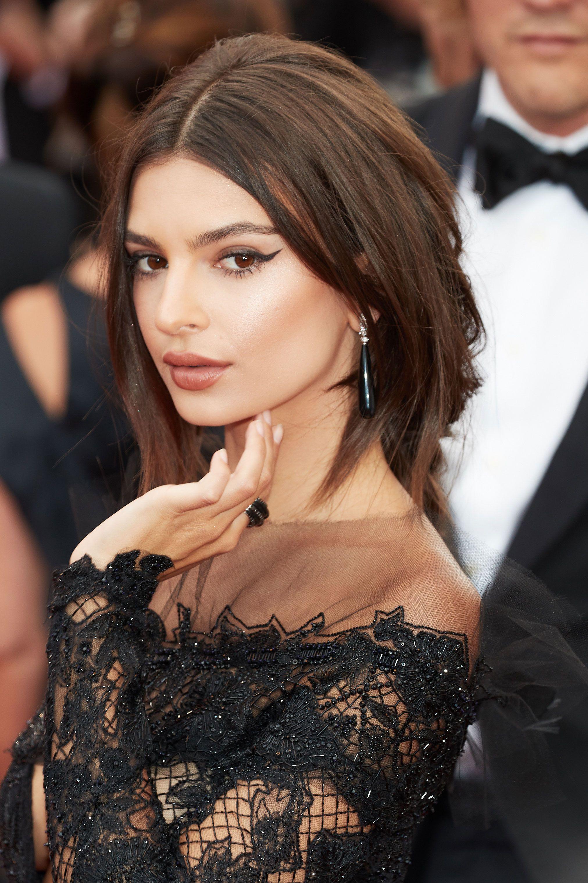 13 celebrity dark brown hair ideas
