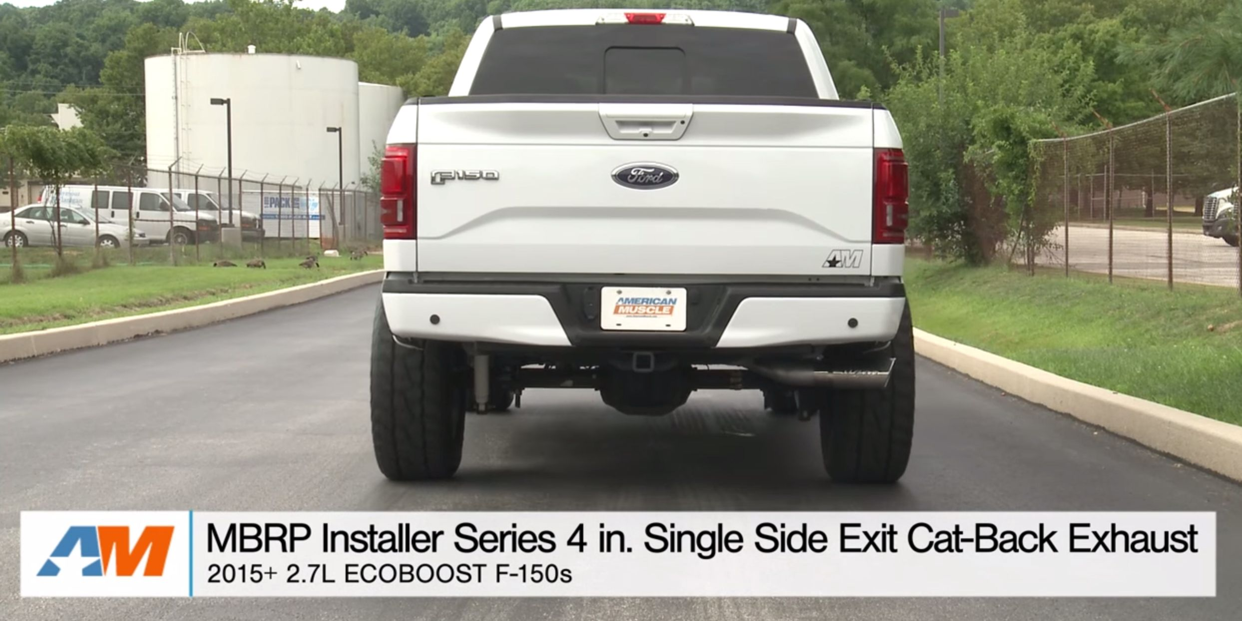 ford f 150 ecoboost exhaust kit make