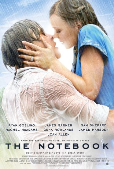 The Notebook - best romantic movies on Netflix India