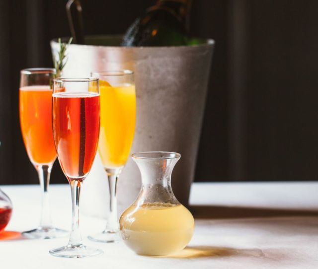 Festive Champagne Cocktail Recipes