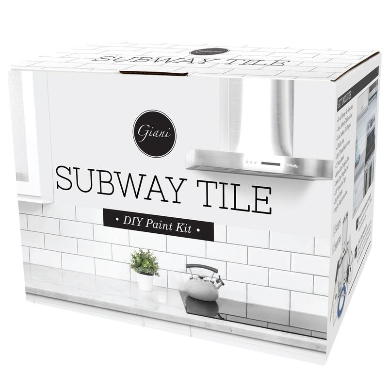 giani subway tile paint kit will help