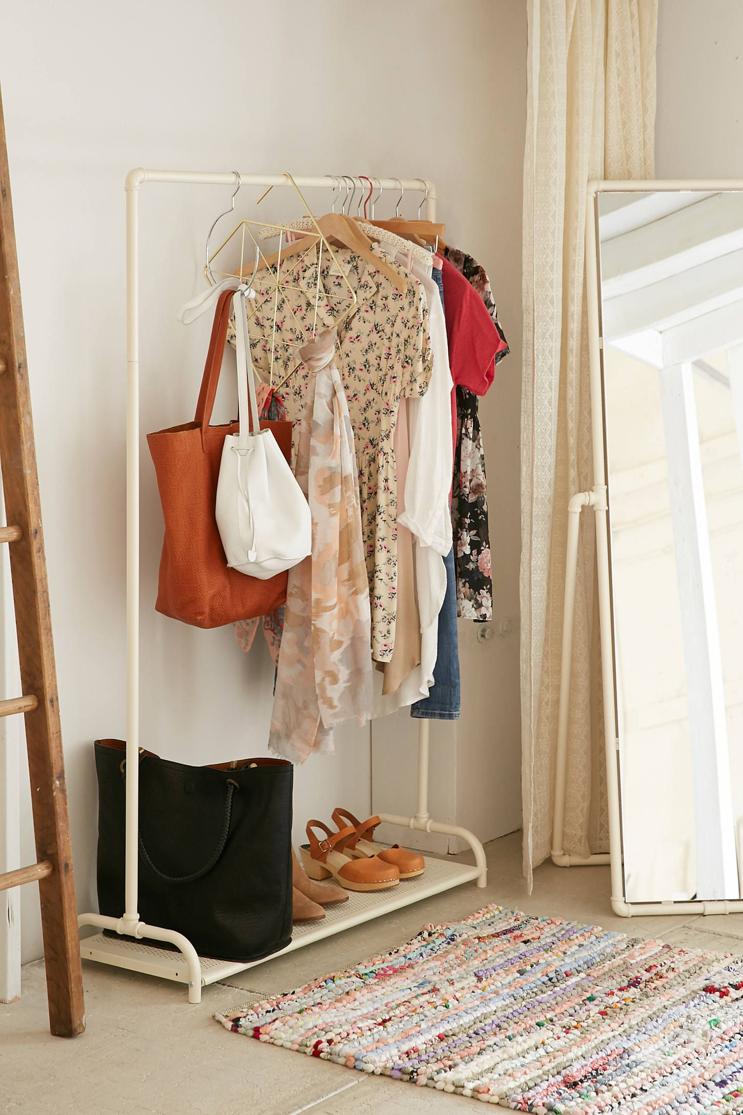 When In Doubt Extend Your Closet Into Your Bedroom