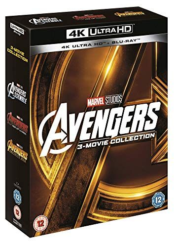 Avengers Collection (1 to 3 boxes) [UHD] [Blu-ray] [2018] [Region Free]