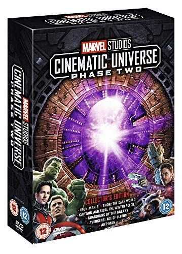 Marvel Studios Collector's Edition Box - Phase 2 [DVD]