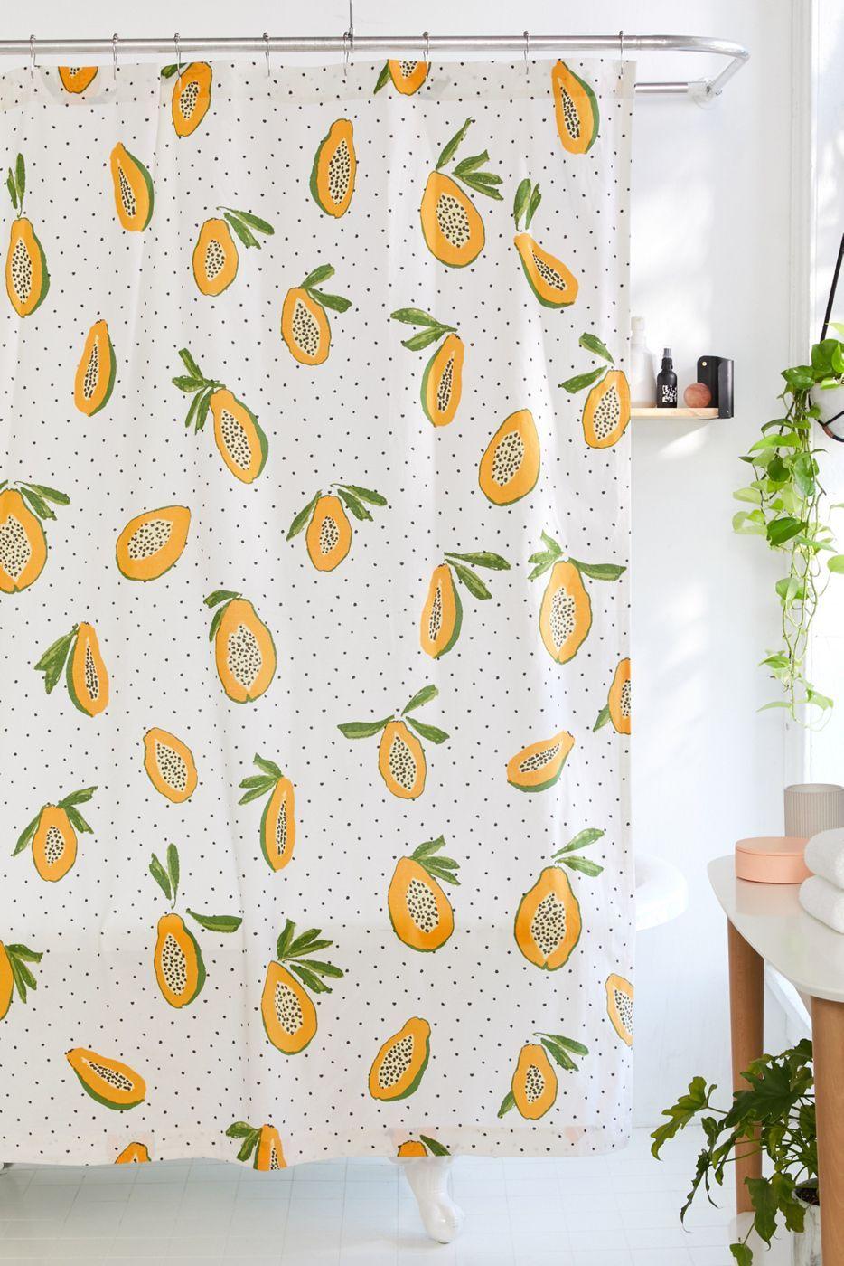 Papayas Shower Curtain