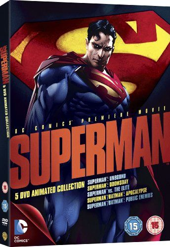 Superman Animated Film Collection [DVD] [2013]