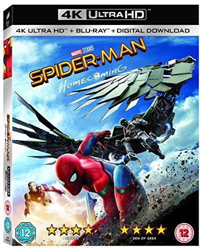 Spider-Man Home [4K UHD + Blu-ray] [2017] [Region Free]