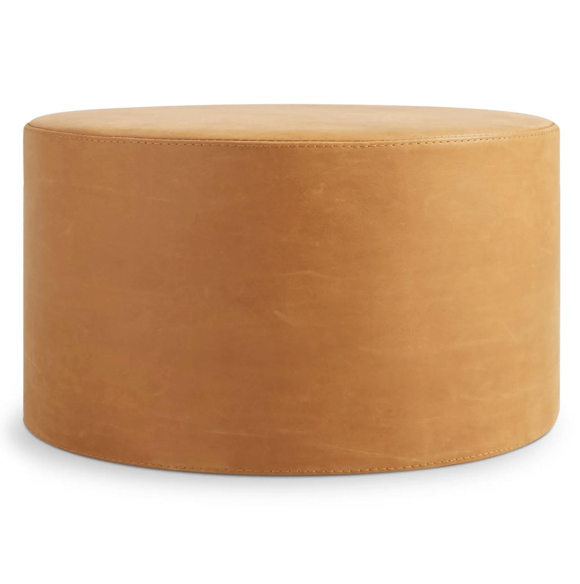 bumper large leather ottoman