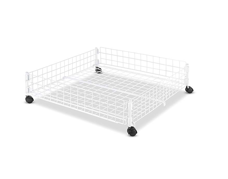 rolling underbed cart