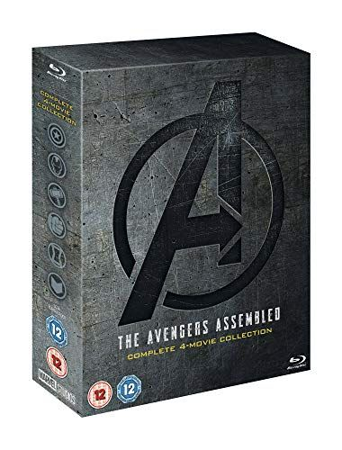 Avengers: 1-4 full Blu-ray boxset includes a bonus disc [2019] [Region Free]