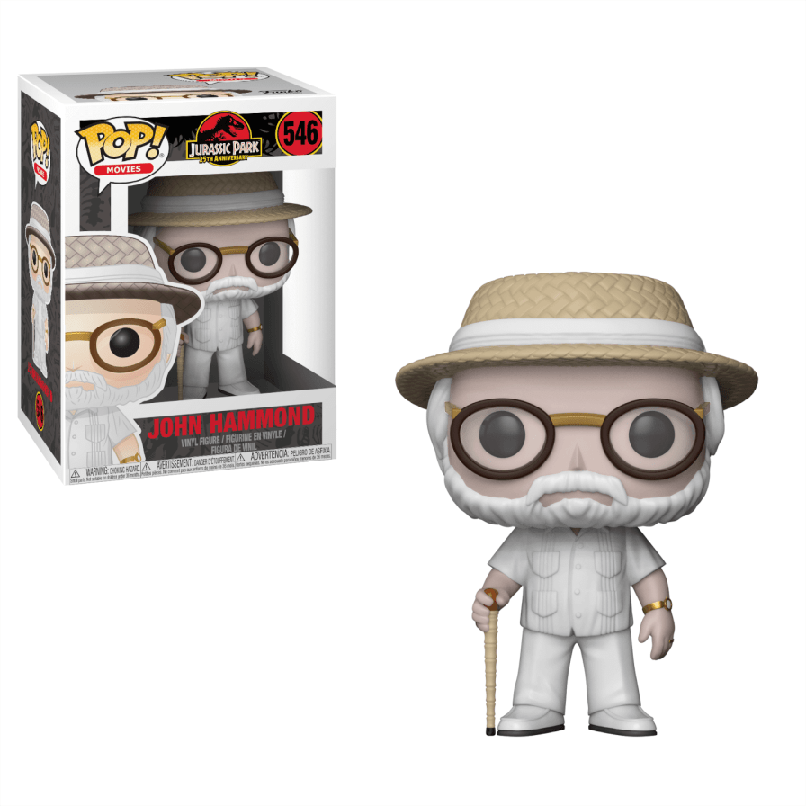 Jurassic Park: John Hammond Pop!  Vinyl figure