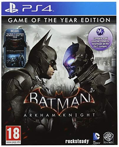 Batman Arkham Knight - Game of the Year Edition (PS4)