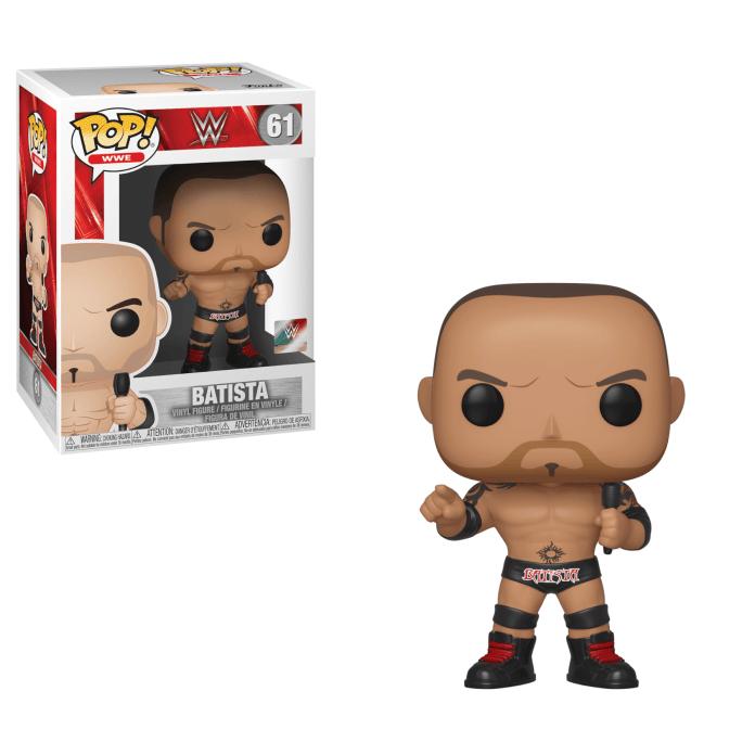 WWE - Batista Pop!  figurine and vinyl