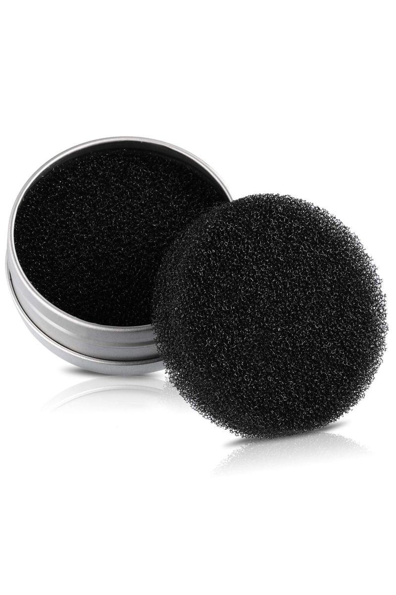 Makeup Brush Cleaner 2-in-1 Color Removal Sponge