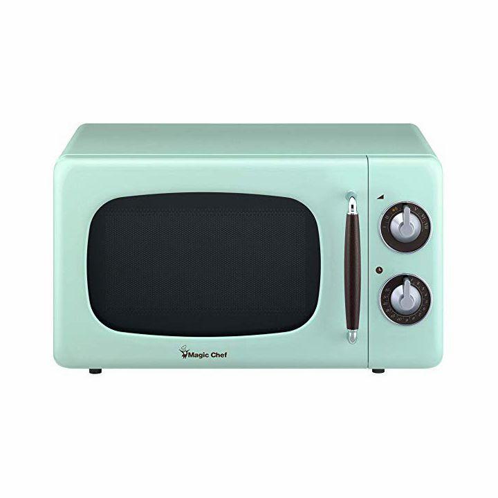 Magic Chef Retro Countertop Microwave
