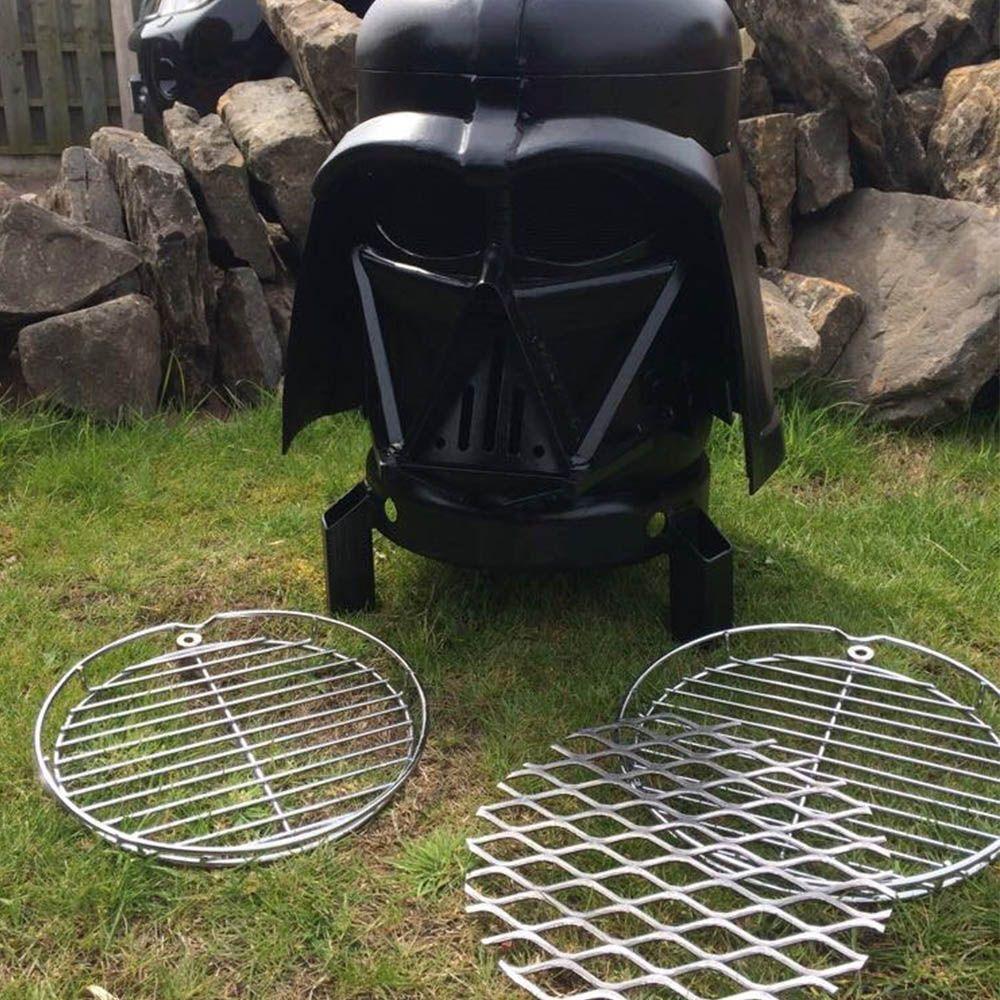 Darth Vader Outdoor Grill