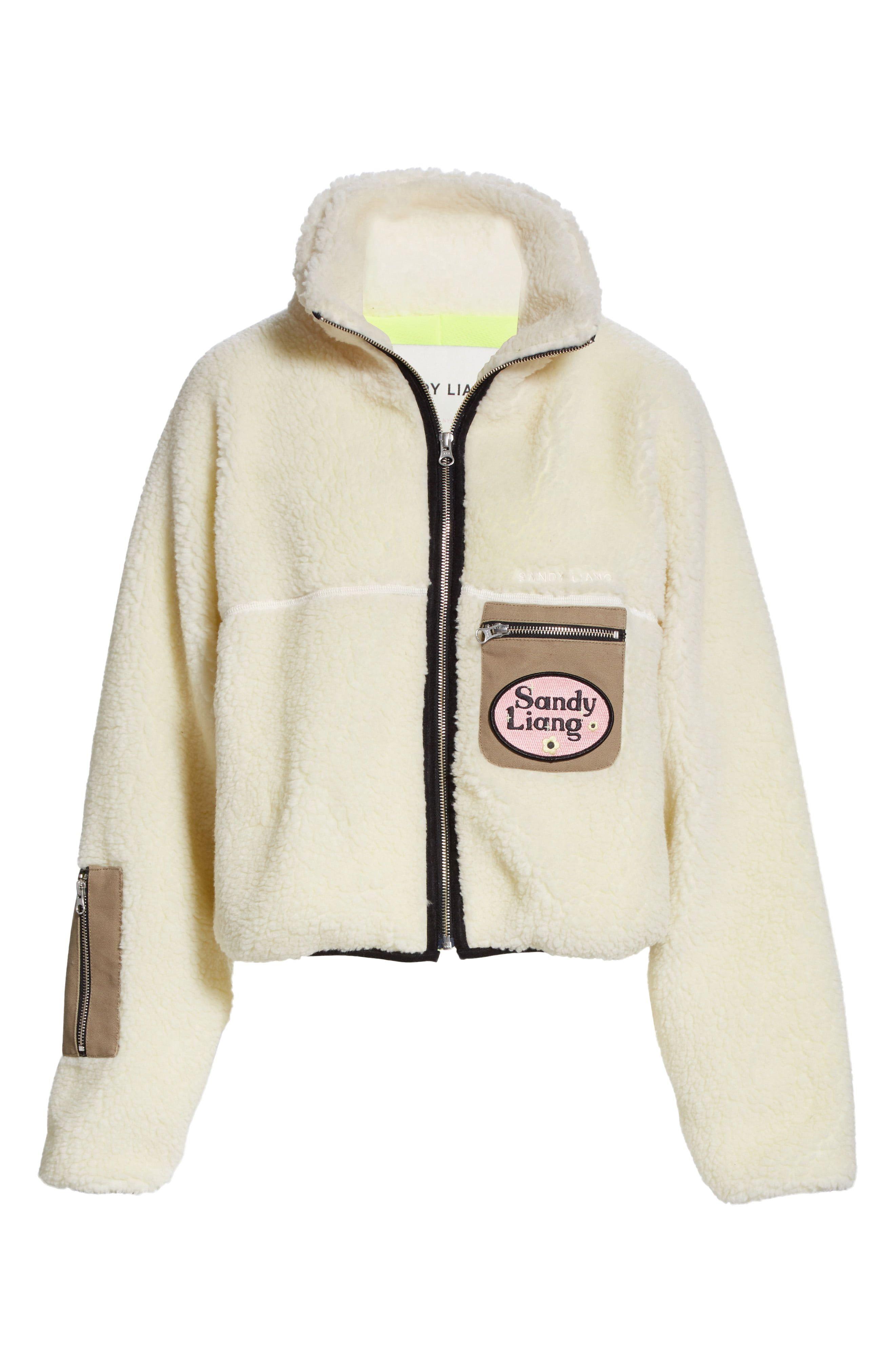 Sarnie Crop Fleece Jacket