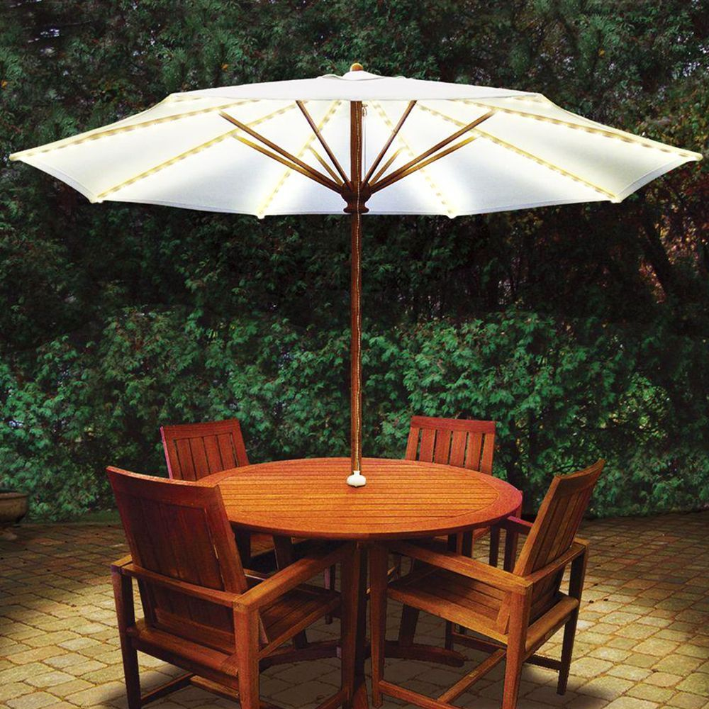 brella lights patio umbrella lighting system