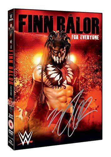 WWE: Finn Bálor - For Everyone (Alternative hand signed cover) [DVD]