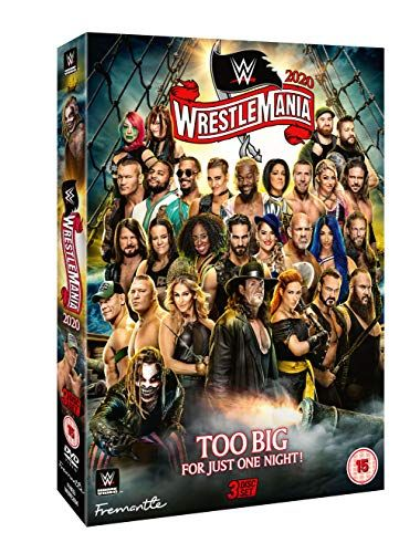 WWE: WrestleMania 36 [DVD]