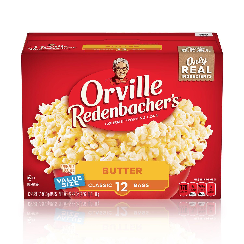 orville redenbacher s butter microwave popcorn