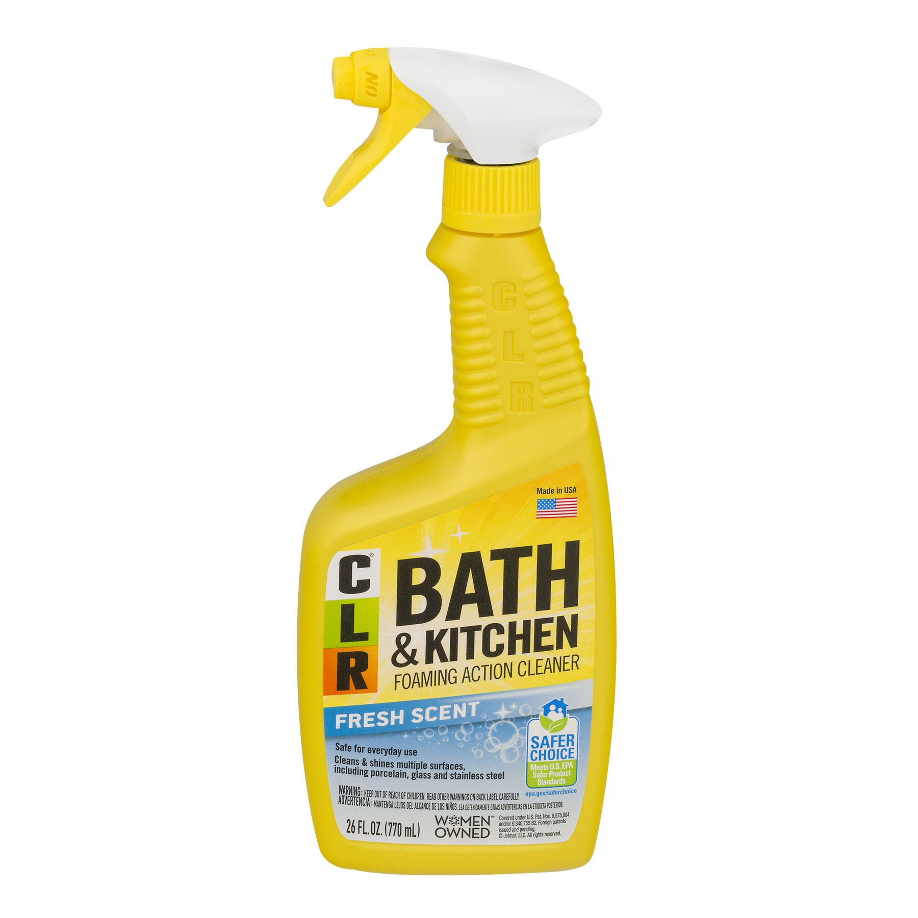 bath and kitchen foaming action cleaner