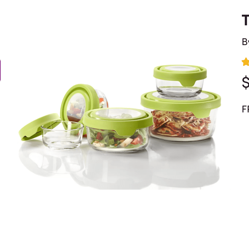 hocking trueseal glass food storage containers with lids