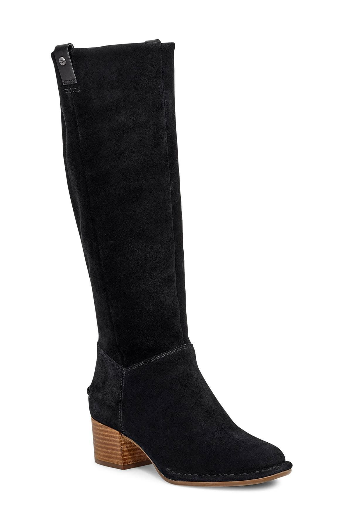 arana kne high leather boots