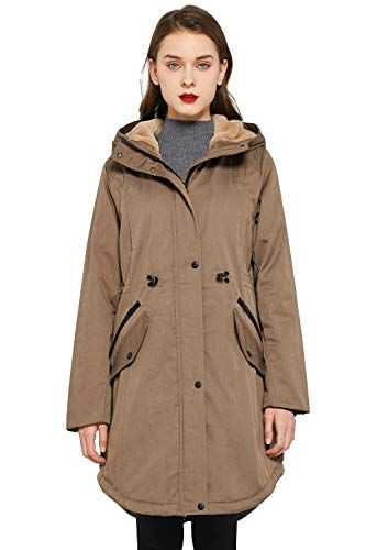 Women's Thicken Fleece Lined Parka