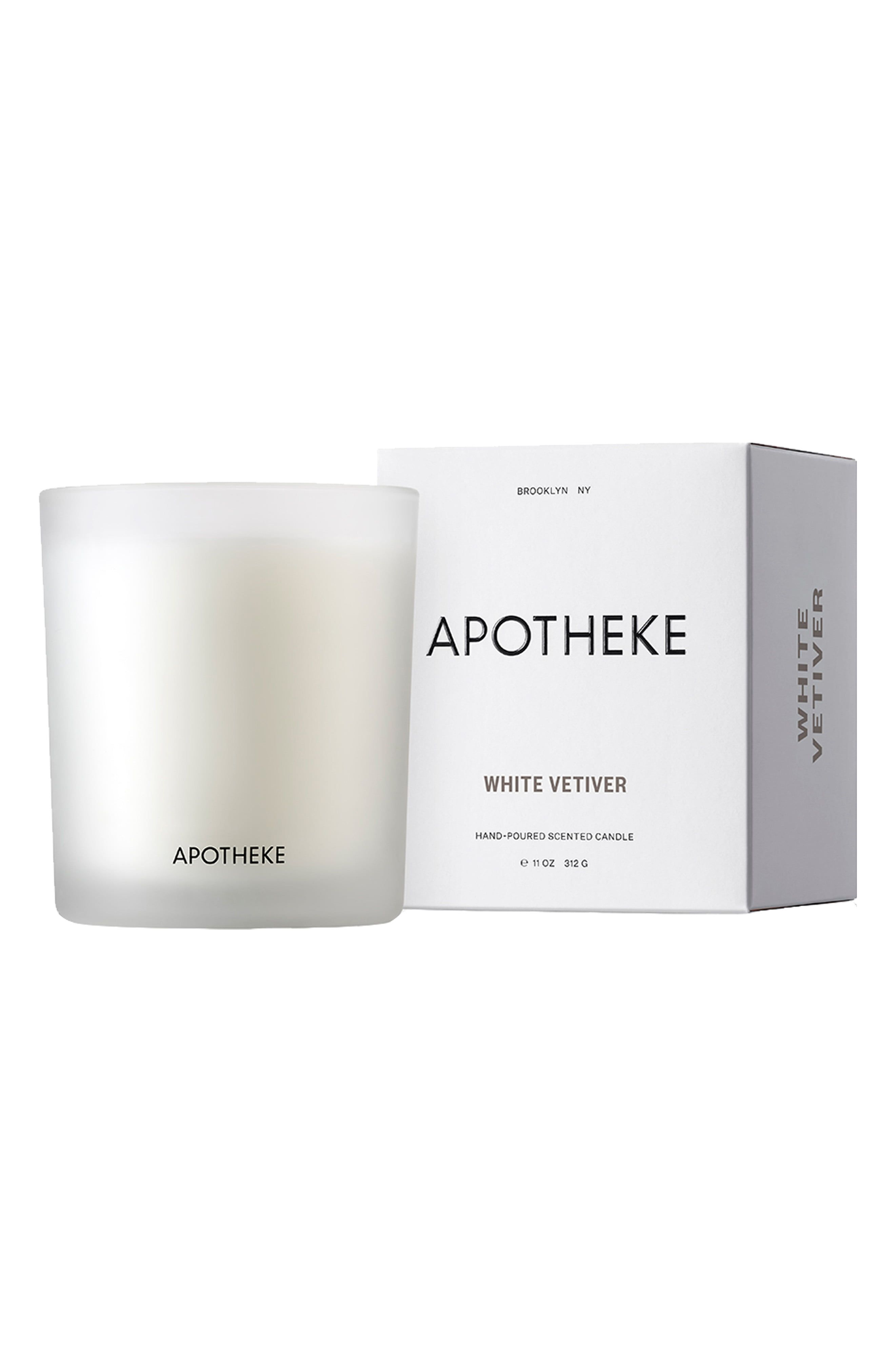 White Vetiver Signature Candle
