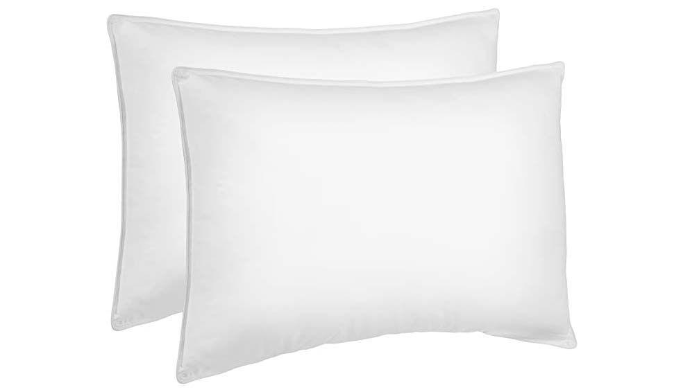 down alternative soft density pillows 2 pack