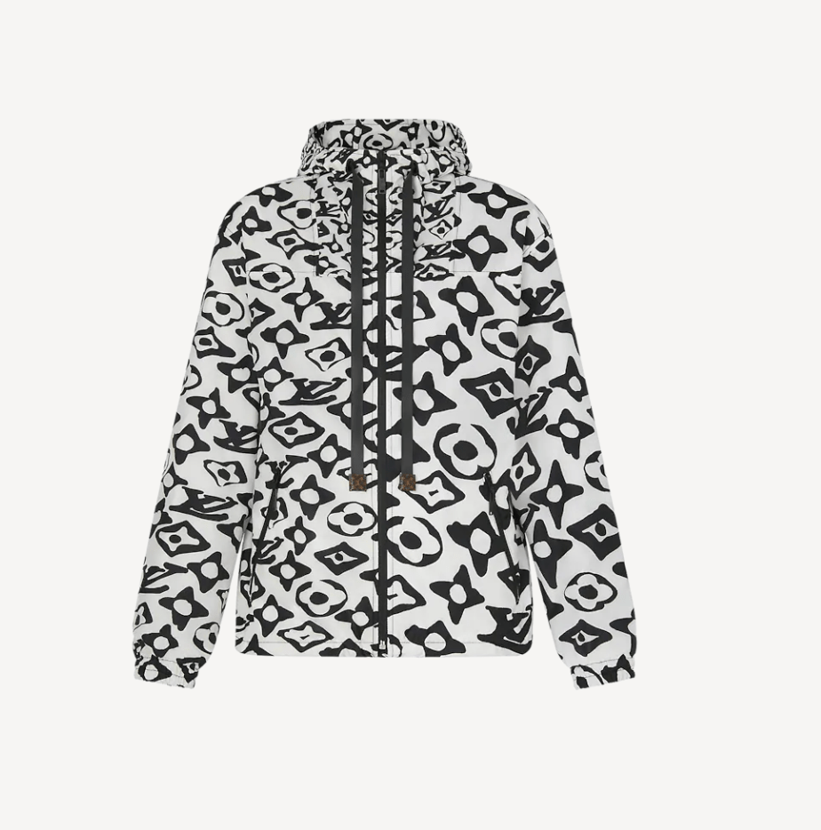 LVxUF Hooded Nylon Parka