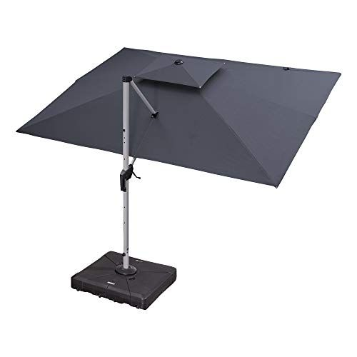 purple leaf 9x12 foot cantilever umbrella