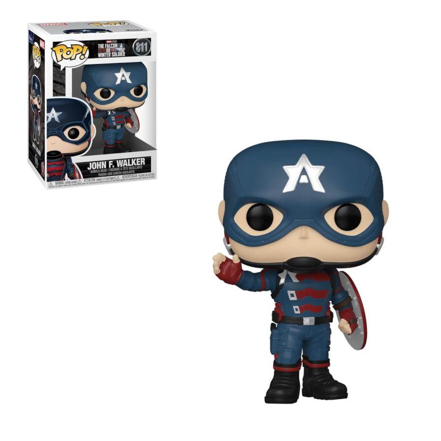 John Walker as Captain America - Funko Pop!  character