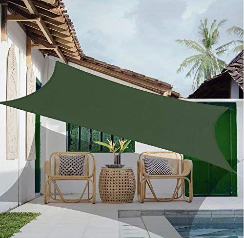 garden expert rectangle sun shade sail