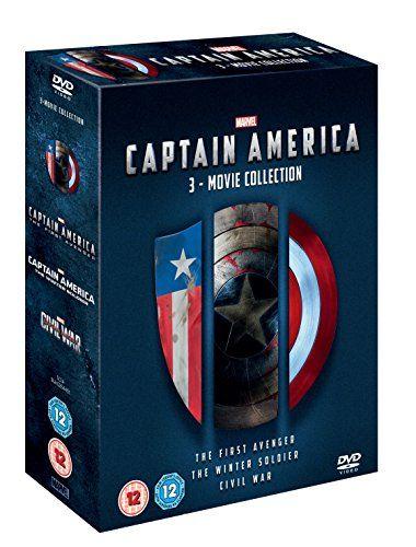 Captain America 3 movie collection [DVD]