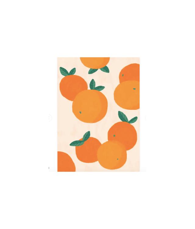 Oranges Illustration Poster, Desenio, from £8.95