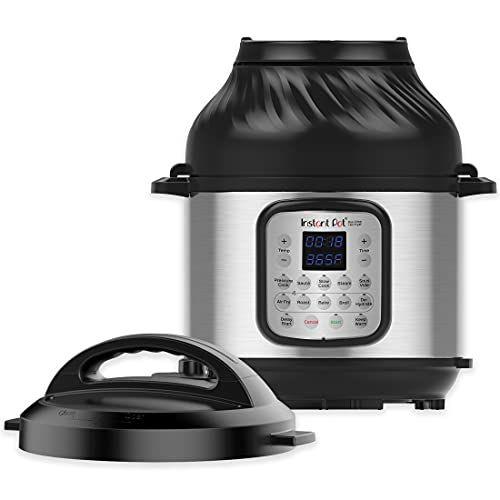 Instant Pot Duo Crisp 11-in-1 Electric Pressure Cooker with Air Fryer Lid, 8 Qt.