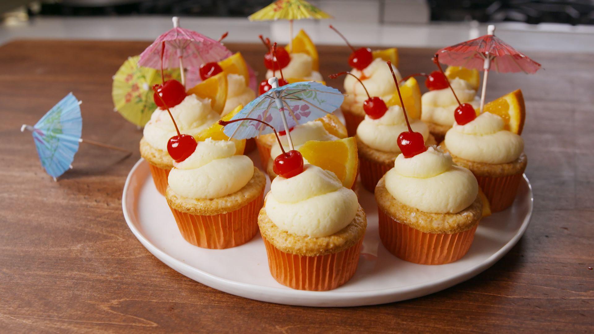 Best Bahama Mama Cupcakes Recipe