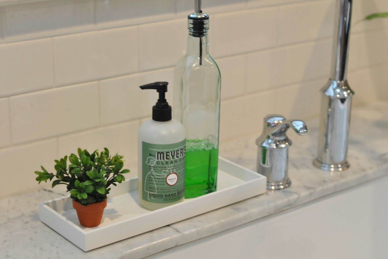 store your cleaning products