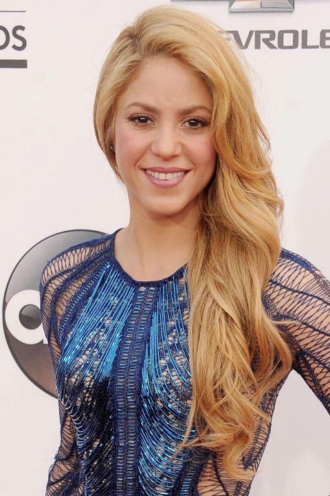 Curly Hairstyles - Shakira